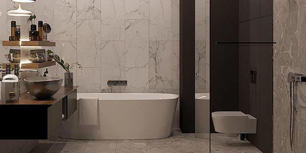 Functional Bathroom In Modern Style