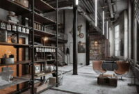 Loft Style In The Interior Of The Apartment: Glamorous, Bohemian Or Industrial?